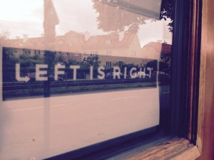 left is rigt